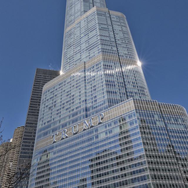 """Trump tower"" stock image"