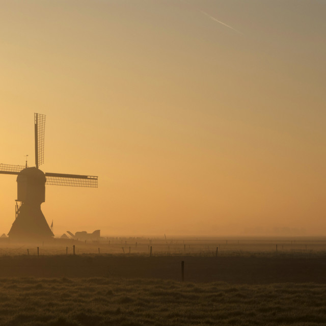 """Windmill Zandwijkse Molen"" stock image"