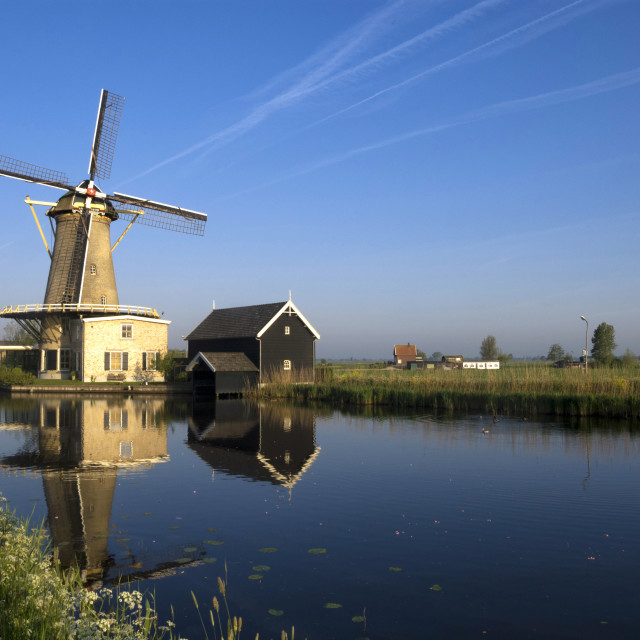 """Windmill the Vriendschap"" stock image"
