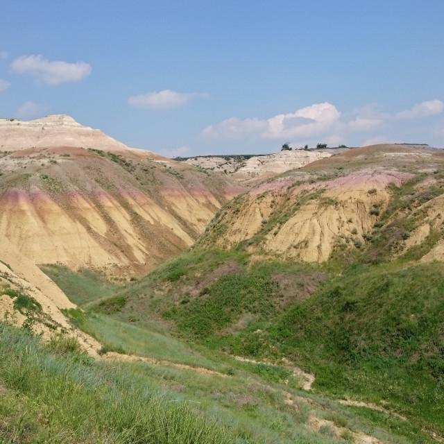 """Badlands National Park - South Dakota"" stock image"