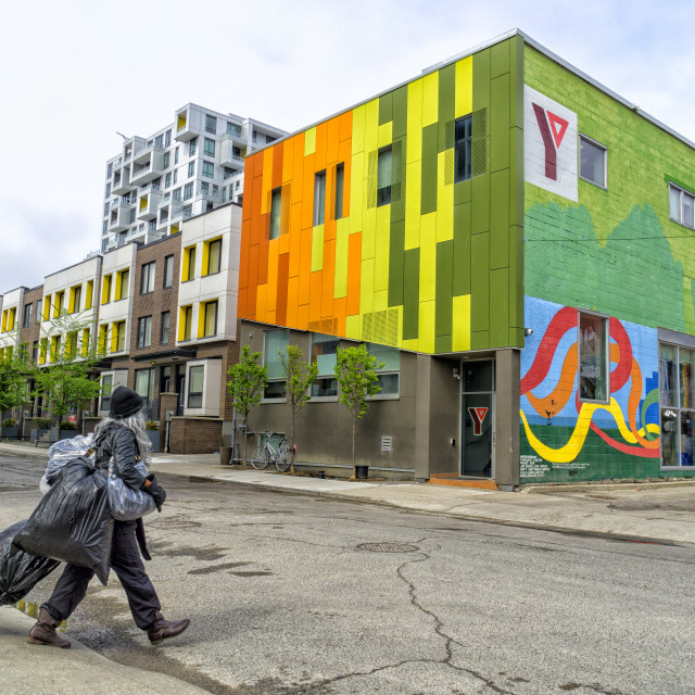 """Home Sweet Home: YMCA & multi-family residential community, Toronto"" stock image"