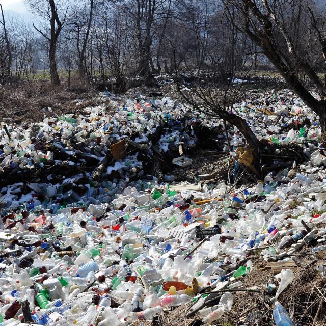 """plastic trash"" stock image"