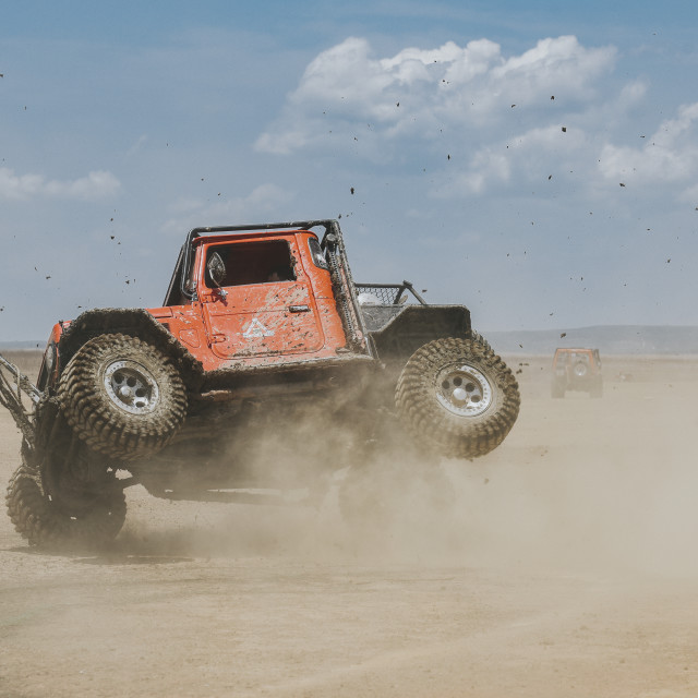 """""""Get ready for offroad"""" stock image"""