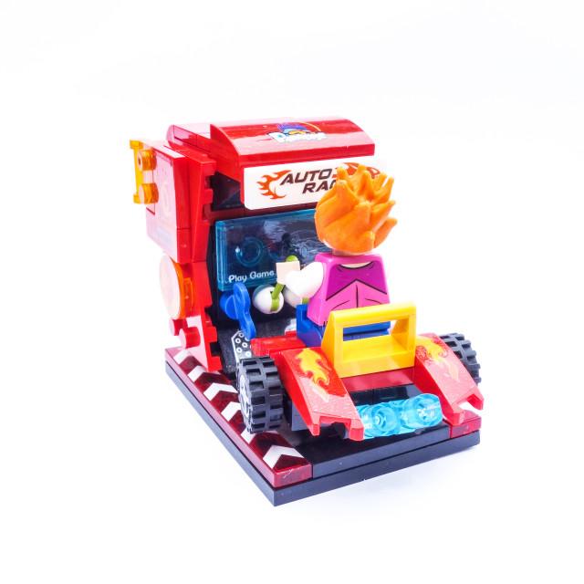 """Arcade racer"" stock image"