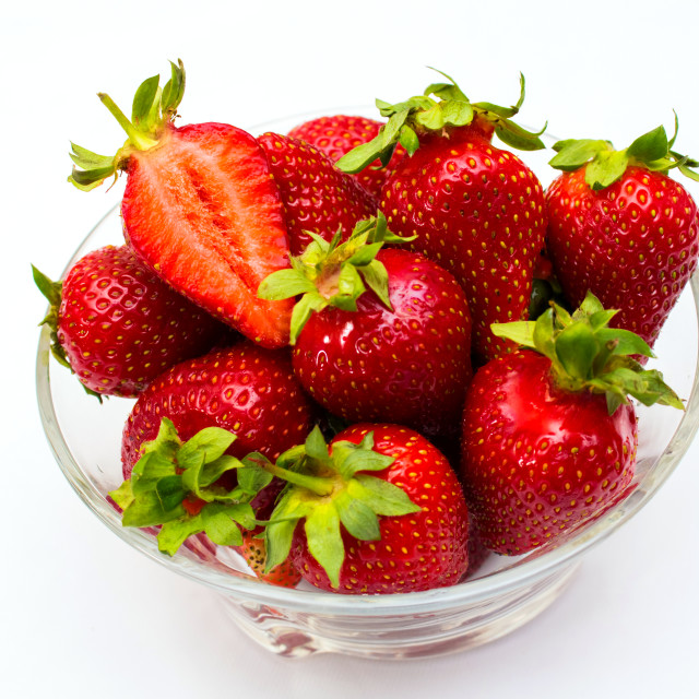 """""""Strawberry isolated on white background. Clipping Path"""" stock image"""