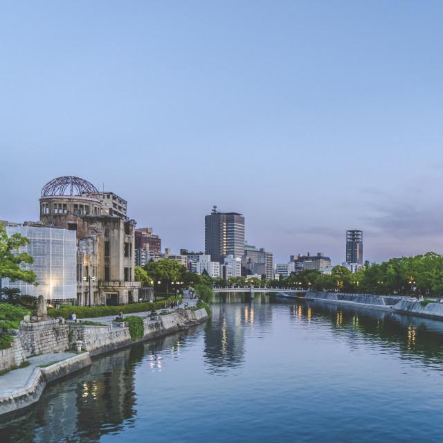 """Goodnight Hiroshima"" stock image"