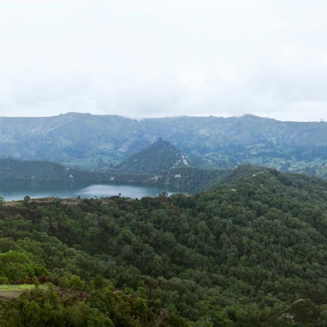 """""""Lake Wonchi, Ethiopia"""" stock image"""