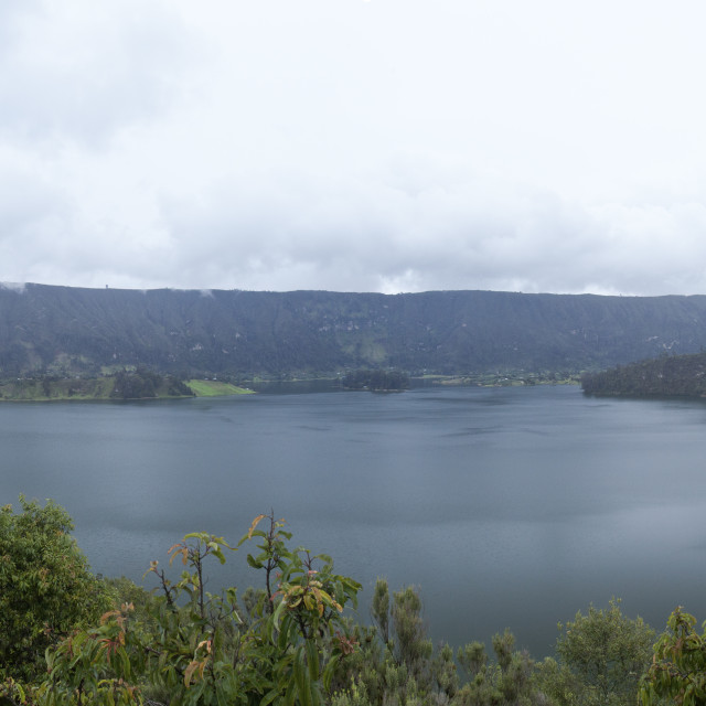 """Lake Wenchi"" stock image"