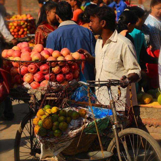 """""""Nepal, Kathmandu"""" stock image"""