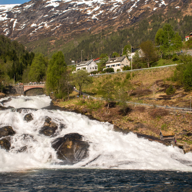 """Norway - Hellesylt"" stock image"