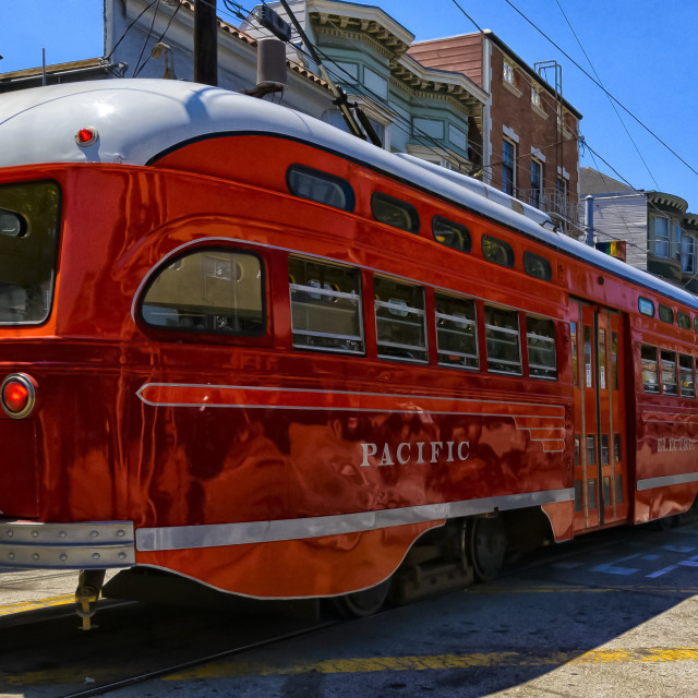 """Pacific Electric"" stock image"