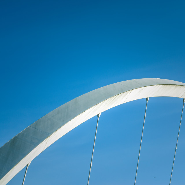 """""""Abstract Contemporary Bridge Detail"""" stock image"""