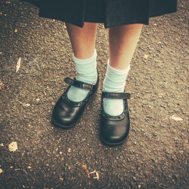 """""""Back To School Girl"""" stock image"""