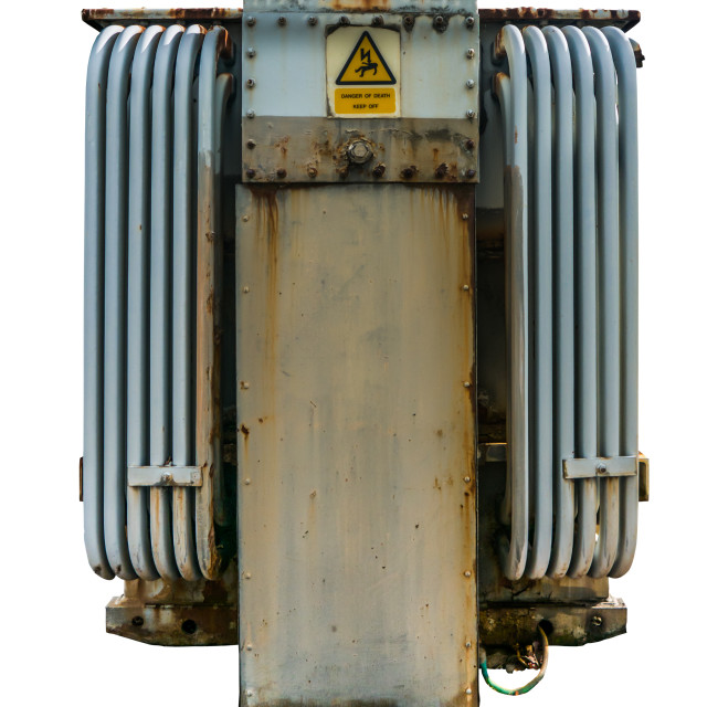 """""""Electrical Grid Transformer"""" stock image"""