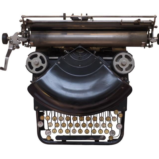 """Old Fashioned Typewriter"" stock image"