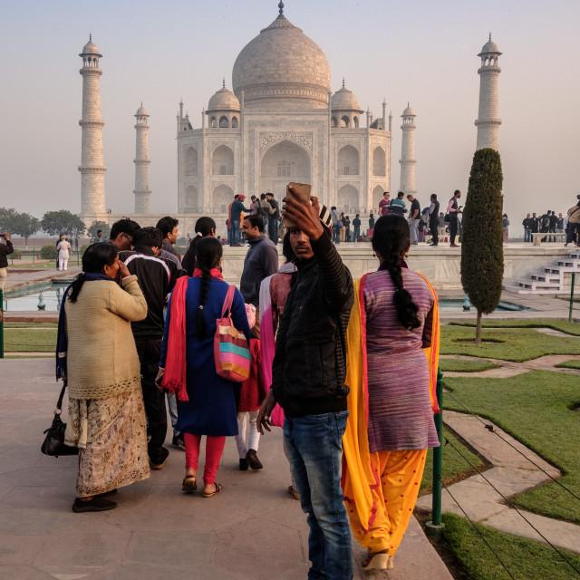 """Taj Mahal 1."" stock image"