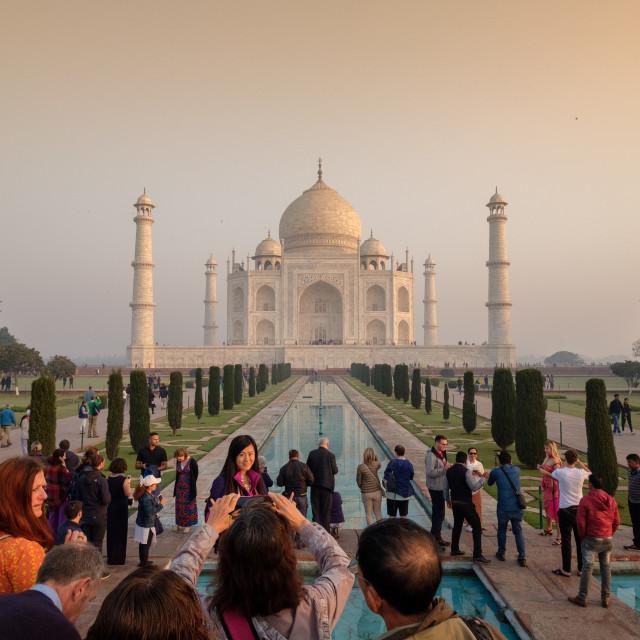 """Taj Mahal 2."" stock image"