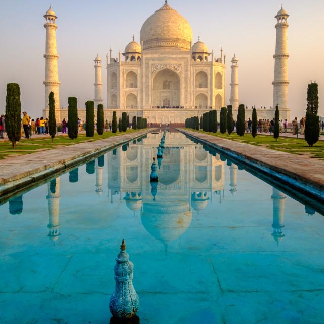 """Taj Mahal 3."" stock image"