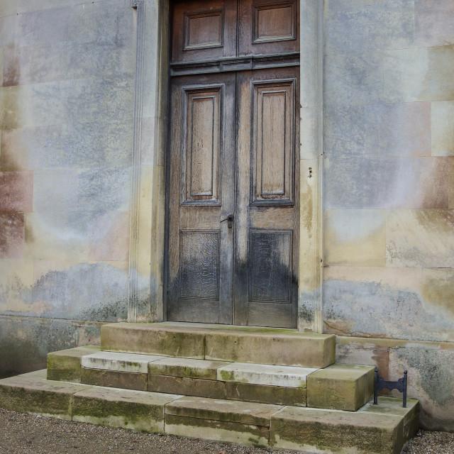 """""""Medieval Door"""" stock image"""