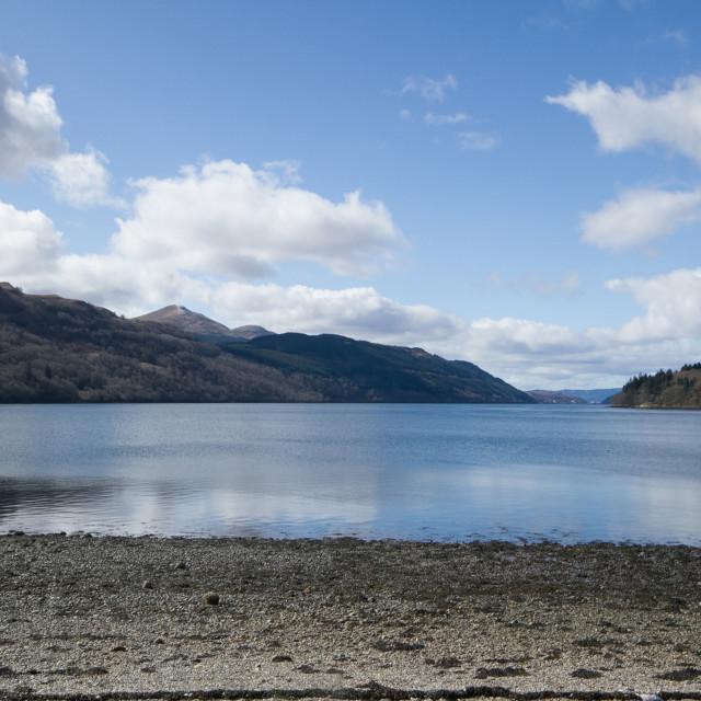 """Loch Long, Highlands, Scotland, UK"" stock image"