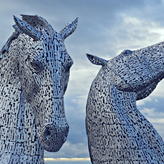 """The Kelpies 001"" stock image"