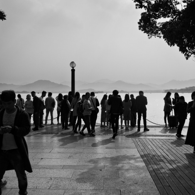 """West Lake, Hangzhou"" stock image"