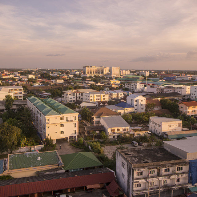 """""""THAILAND ISAN SURIN CITY VIEW"""" stock image"""