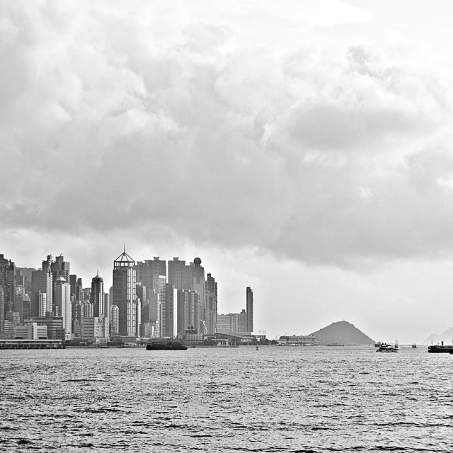 """Hong Kong Skyline"" stock image"