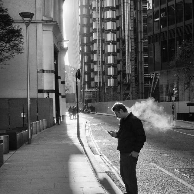 """Street Photo London"" stock image"