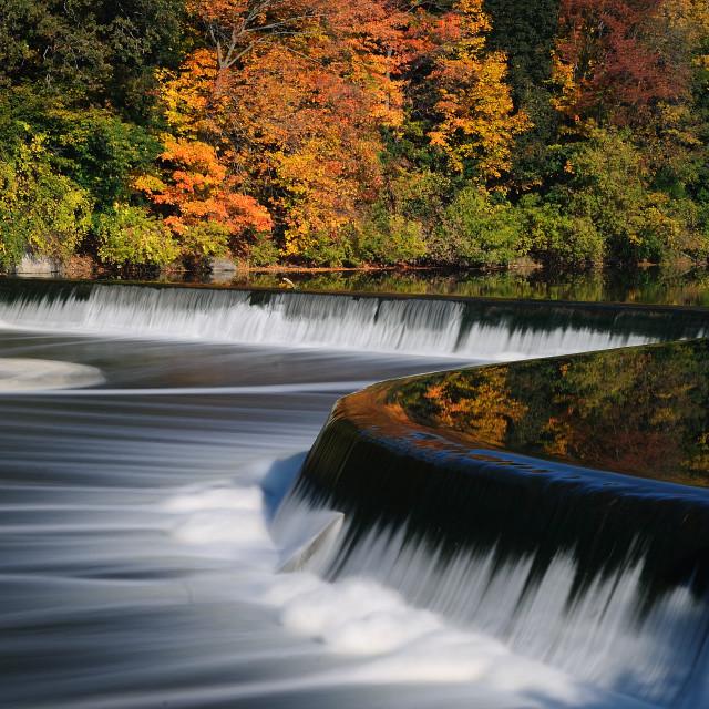 """""""Penman's Dam, Ontario"""" stock image"""