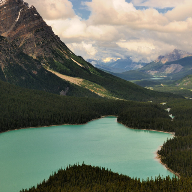 """Peyto Lake, Alberta"" stock image"