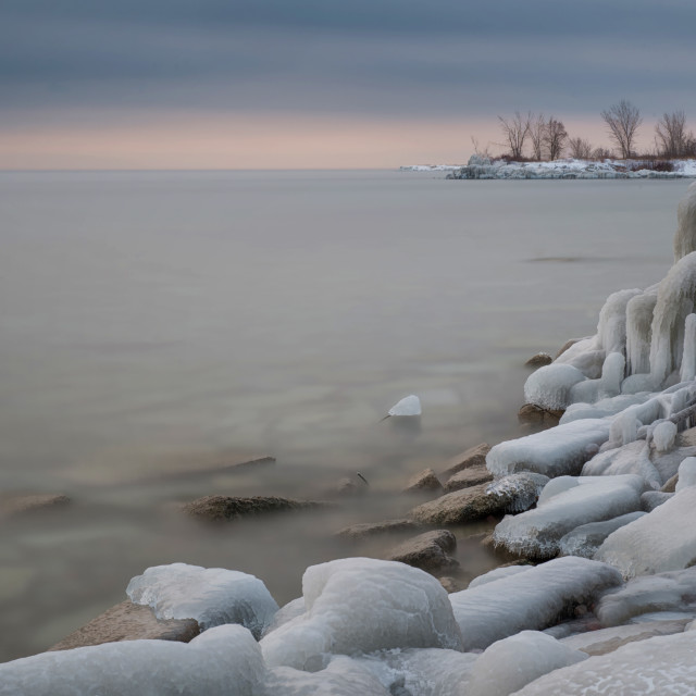 """Leslie Spit, Toronto Ontario"" stock image"