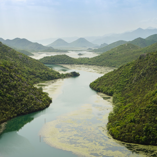 """River Crnojevica, Montenegro"" stock image"