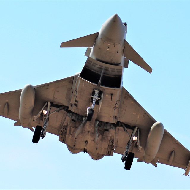 """""""Eurofighter Typhoon"""" stock image"""