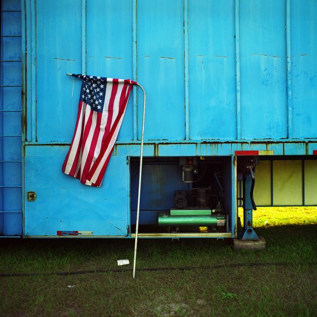 """American Flag"" stock image"