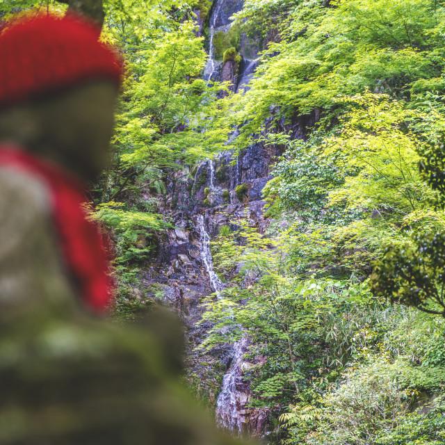 """Ojizo-sama"" stock image"