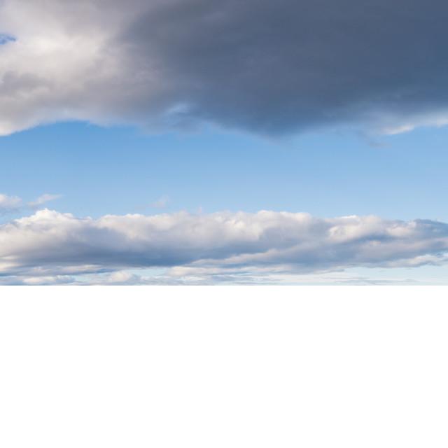 """Spain Costa Brava panoramic view"" stock image"