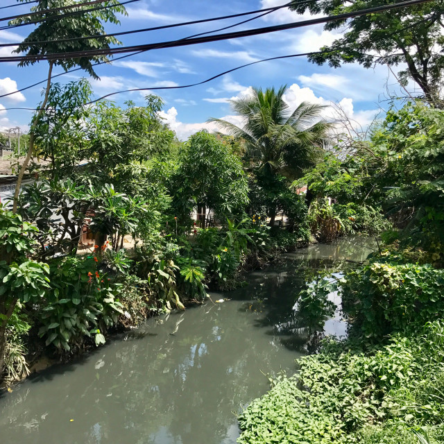"""""""Chiang Mai Canals"""" stock image"""