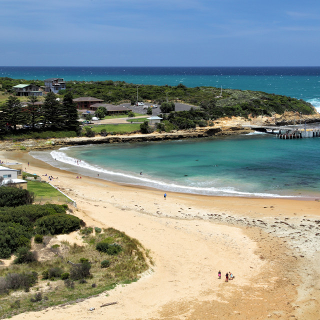 """""""Port Campbell"""" stock image"""