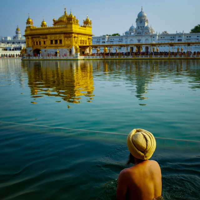 """Golden Temple, Amritsar India, 2018"" stock image"