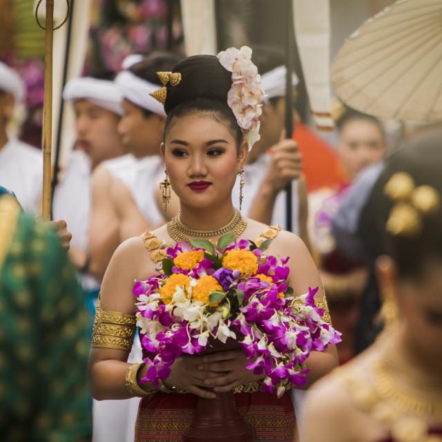 """""""Chiang Mai Flower Festival 2018"""" stock image"""