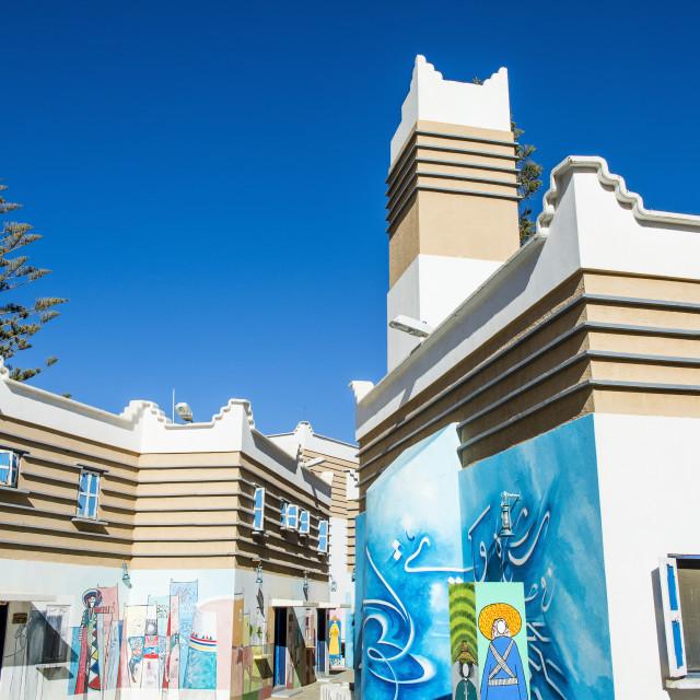 """Muftaha Village Art Gallery, Abha, Saudi Arabia"" stock image"