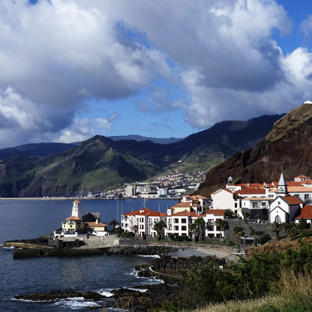 """""""Quinta do Lorde, Canical, east Madeira, Portugal"""" stock image"""