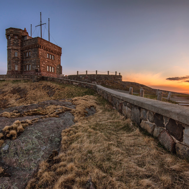 """Cabot Tower on Signal Hill"" stock image"