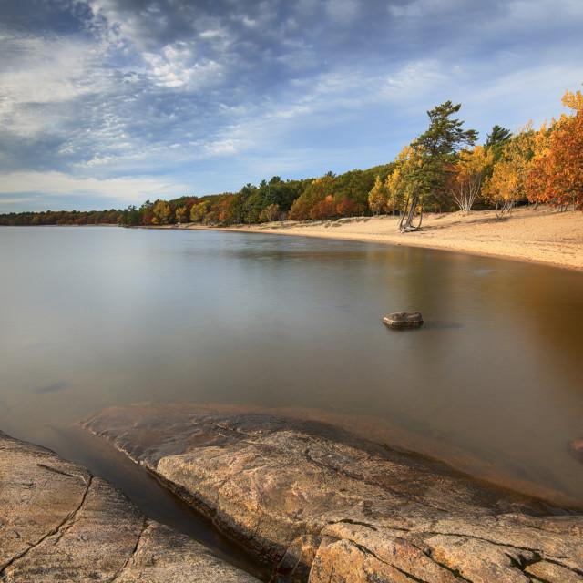 """Killbear Provincial Park"" stock image"