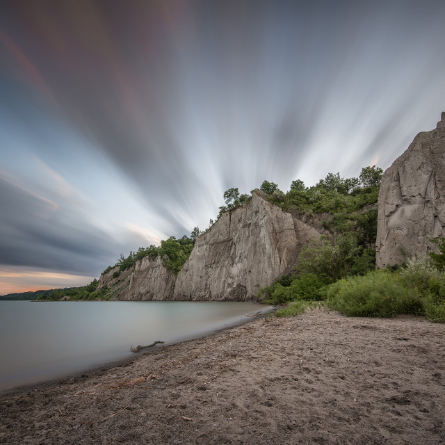 """Scarborough Bluffs"" stock image"
