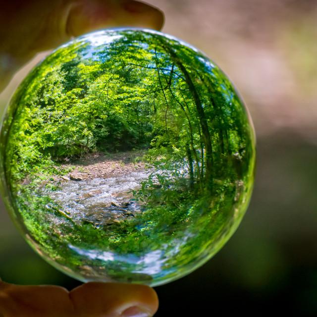 """""""Crystal Ball Creek"""" stock image"""