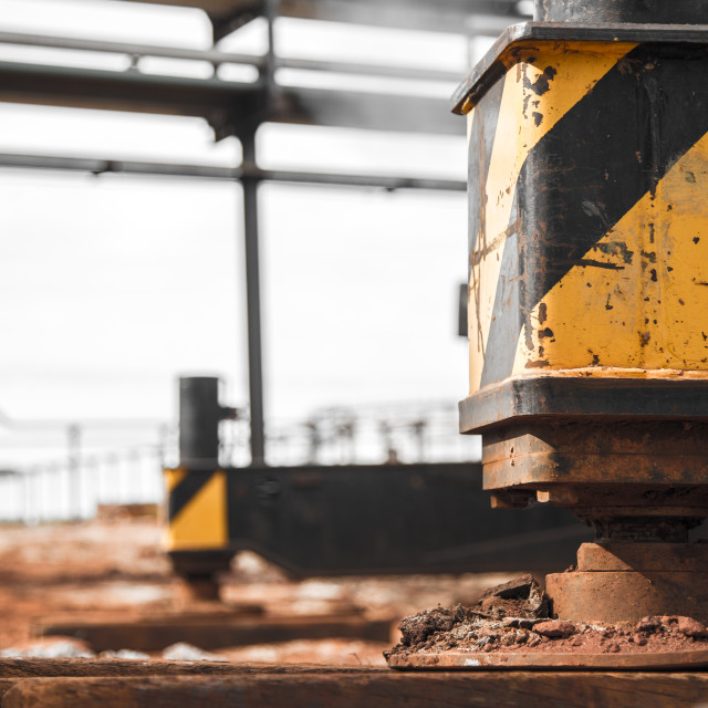"""Crane Support industry machine"" stock image"
