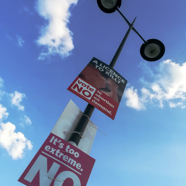 """Vote No"" stock image"