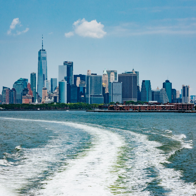 """Manhattan Ferry"" stock image"